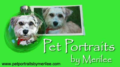 Pet Portraits by Merilee